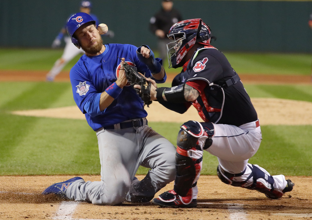 World Series Game 1: Indians defeat the Cubs 6-0 - Chicago