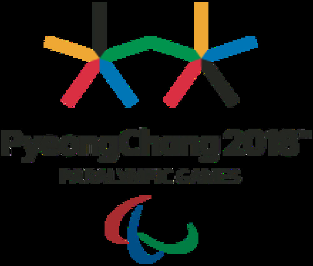 The PyeongChang 2018 Paralympic Winter Games Emblem.
