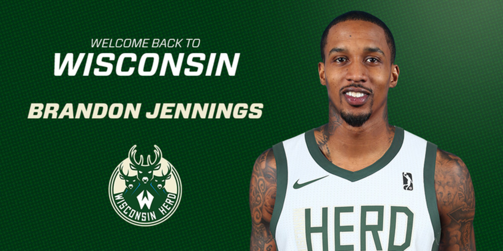 Wisconsin Herd Acquires Brandon Jennings