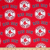 zoom MLB Cotton Broadcloth Boston Red Sox Red/Blue