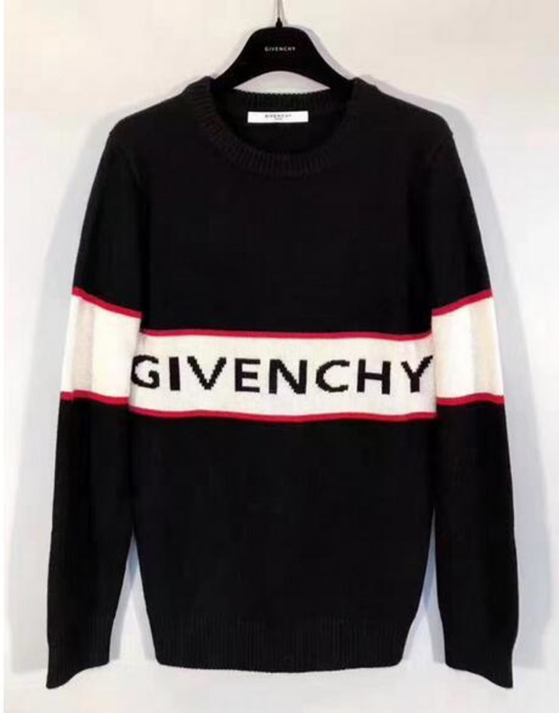 2017 givenchy new women/men intarsia wool sweaters. «