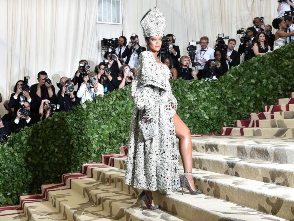 SLIDESHOW: All the looks from the 2018 Met Gala
