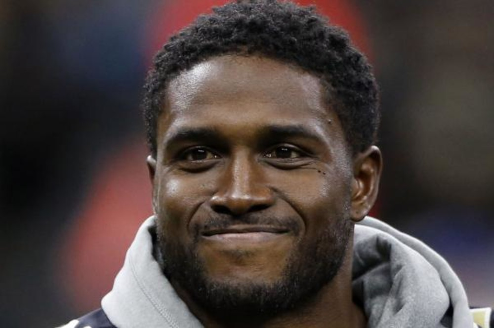 Reggie Bush returned to the Superdome for the Wild Card Playoff Game  between the New Orleans Saints and Carolina Panthers on Ja